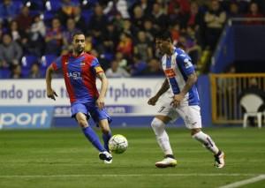 Juanfran es duda contra el Málaga