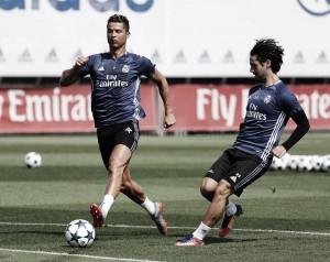 Último entrenamiento de la temporada en la Ciudad Real Madrid