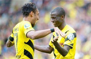 Primer gol oficial de Adrián Ramos con el Borussia Dortmund