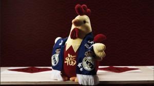 El Real Madrid se pone gallo