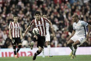 Un cabezazo de Aduriz dio la victoria al Athletic