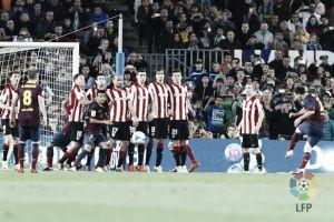 Tres minutos sentenciaron al Athletic en su última visita al Camp Nou