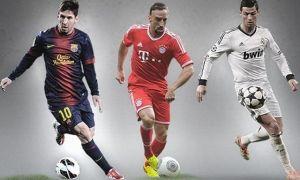 Leo Messi finalista del Balón de Oro 2013