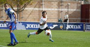 El Valencia CF Mestalla no supo parar a Rayco