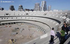 El Valencia acuerda con el Ayuntamiento el pago del Nuevo Mestalla