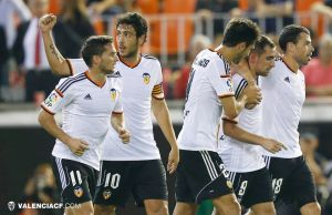 Valencia - Elche: puntuaciones del Valencia, jornada 9 de Liga BBVA