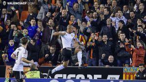Valencia - Rayo Vallecano: puntuaciones del Valencia, jornada 15 de Liga BBVA