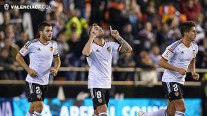 Valencia - Rayo:puntuaciones del Valencia, vuelta dieciseisavos de final Copa del Rey