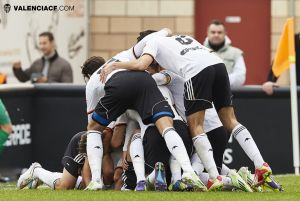 Los minutos finales condenan al Real Zaragoza B en Valencia