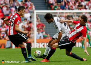 Athletic de Bilbao- Valencia CF: Puntuaciones del Valencia CF, jornada 7 de la Liga BBVA