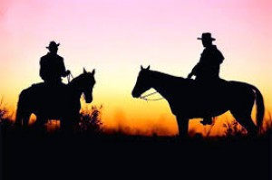 "La guerra del oeste ""Welcome to the old west"""