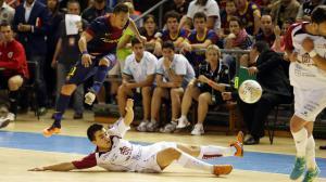 Caja Segovia se despide de una ilusión fulminado por el FC Barcelona