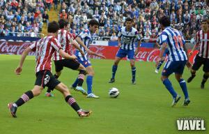 Deportivo y Athletic se reparten los puntos en un encuentro de alternativas