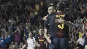 Sergio Lozano y el Palau guían a la victoria al FC Barcelona Alusport