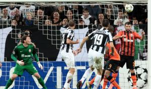 Shakhtar Donetsk unlucky to leave the Juventus Stadium with just 1 point