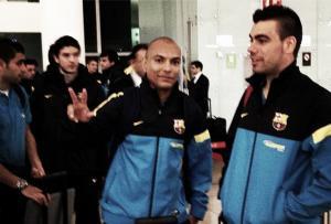 El FC Barcelona Alusport ya está en Georgia