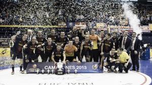 FC Barcelona Alusport 6-3 ElPozo Murcia: triplete real