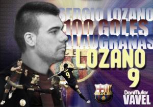 Sergio Lozano, el goleador centenario