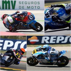 Herrera, Ramos, Raffin y Morales triunfan en Motorland
