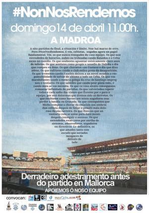 Trasladada la convocatoria de #NonNosRendemos a A Madroa