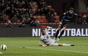 Denis rimonta l'Inter, rivivi la diretta