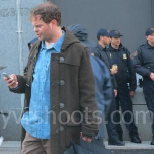 Rainn Wilson, ex 'The Office', ya graba 'Backstrom'