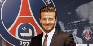 Le PSG s'offre David Beckham