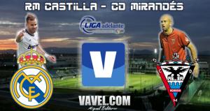 Real Madrid Castilla - Mirandés, en directo online
