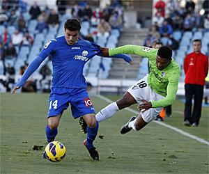 El Málaga se pierde en Getafe