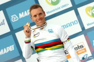 Philippe Gilbert is World Champion