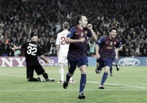 Barcelona 3-1 Milan: Messi e Iniesta meten al Barcelona en semifinales de Champions
