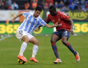 Willy salva un punto en un intenso partido ante Osasuna