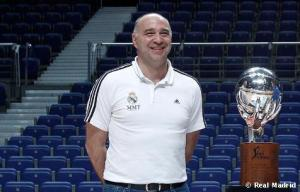 Pablo Laso, elegido mejor entrenador de la temporada