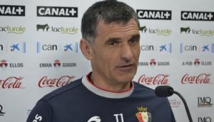 """Mendilibar: """"Este partido seguro que es más de sufrir que de disfrutar"""""""