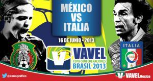 México - Italia, así lo vivimos