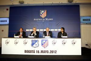 Despedida de la temporada en Colombia: Atlético de Madrid-Millonarios Fútbol Club