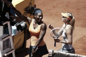 Sharapova se acerca a la victoriosa Serena