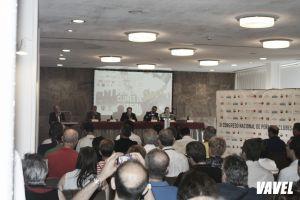 Javier Tebas se reune con las federaciones de peñas del fútbol español