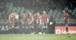 Real Sociedad - Osasuna: puntuaciones del Osasuna, jornada 21 de La Liga