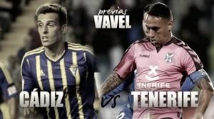 Previa Cádiz CF – CD Tenerife: primer duelo de 'playoff'