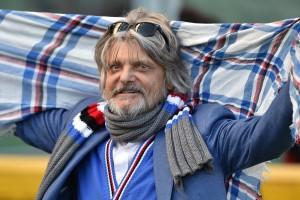 """Sampdoria, Ferrero incontenibile: """"Se vinciamo il derby faccio invasione di campo"""""""