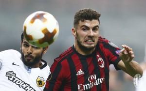 Milan- AEK Atene, i rossoneri non vanno oltre il pareggio. Le parole dei protagonisti nel post-partita