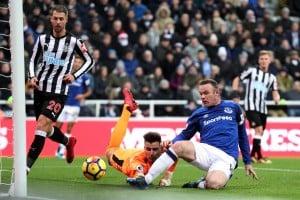 Premier League - L'Everton espugna di misura Newcastle (0-1): decide Rooney