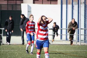 Dura derrota del Granada CF Femenino frente al Transportes Alcaine