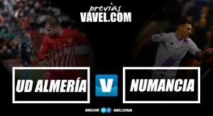 Previa UD Almería - CD Numancia: vuelven los fantasmas