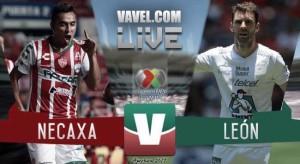 Resultado y goles del Necaxa 0-3 León de la Liga MX 2017