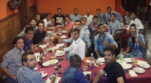 El Conquense prepara el partido con el Atlético B con una cena de unión