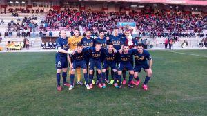 Hugo Díaz mantiene líder al UCAM Murcia CF