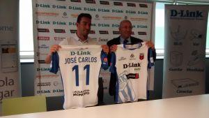 José Carlos, presentado como nuevo jugador de D-Link Zaragoza