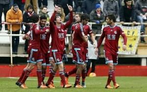 Rayo Valecano - Real Sociedad: puntuaciones de la Real Sociedad, jornada 18 de Liga BBVA